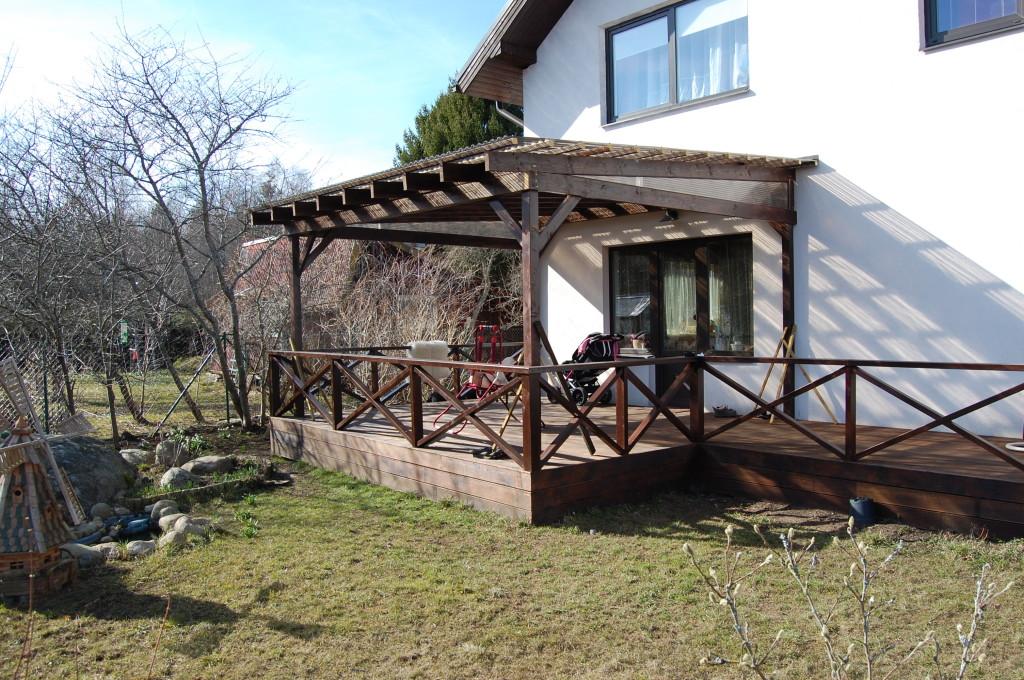Terrassi katus läbipaistev